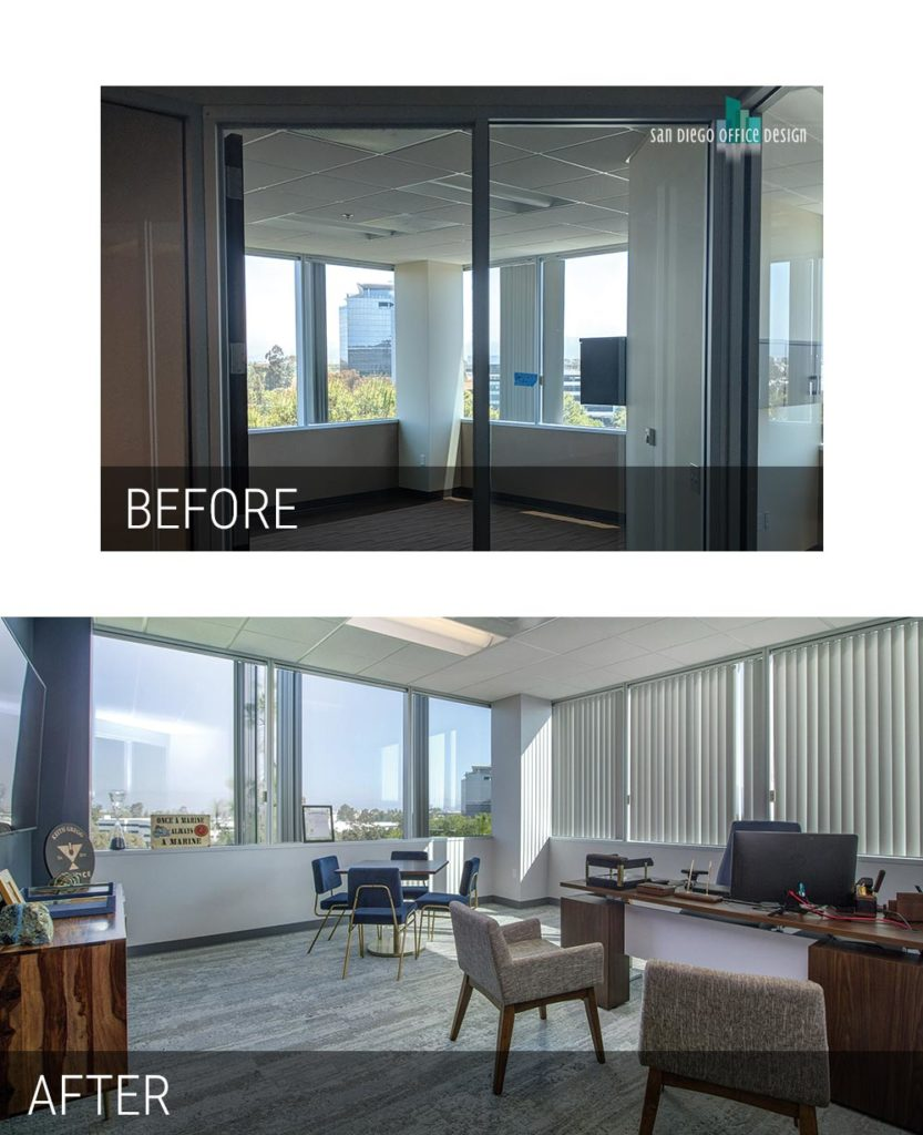Before and After - Chalice Private Office