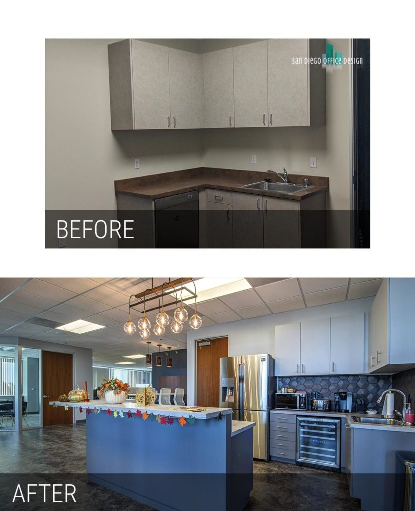Before and After - Chalice Kitchen