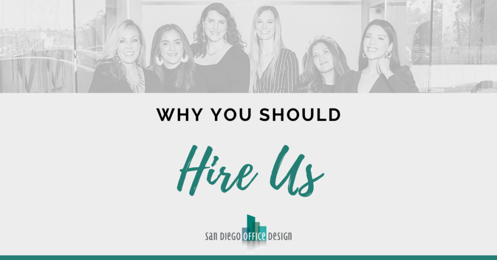 "Graphic reads, ""Why You Should Hire Us"""