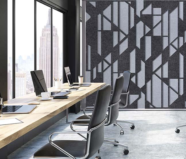 Setro acoustical panels