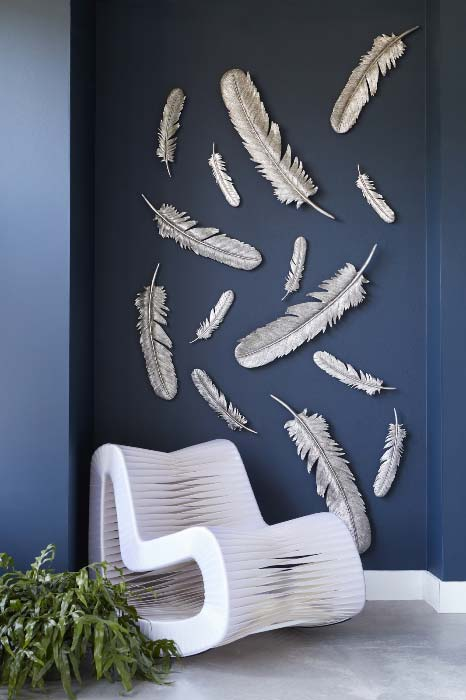 3D Wall Art - Feathers