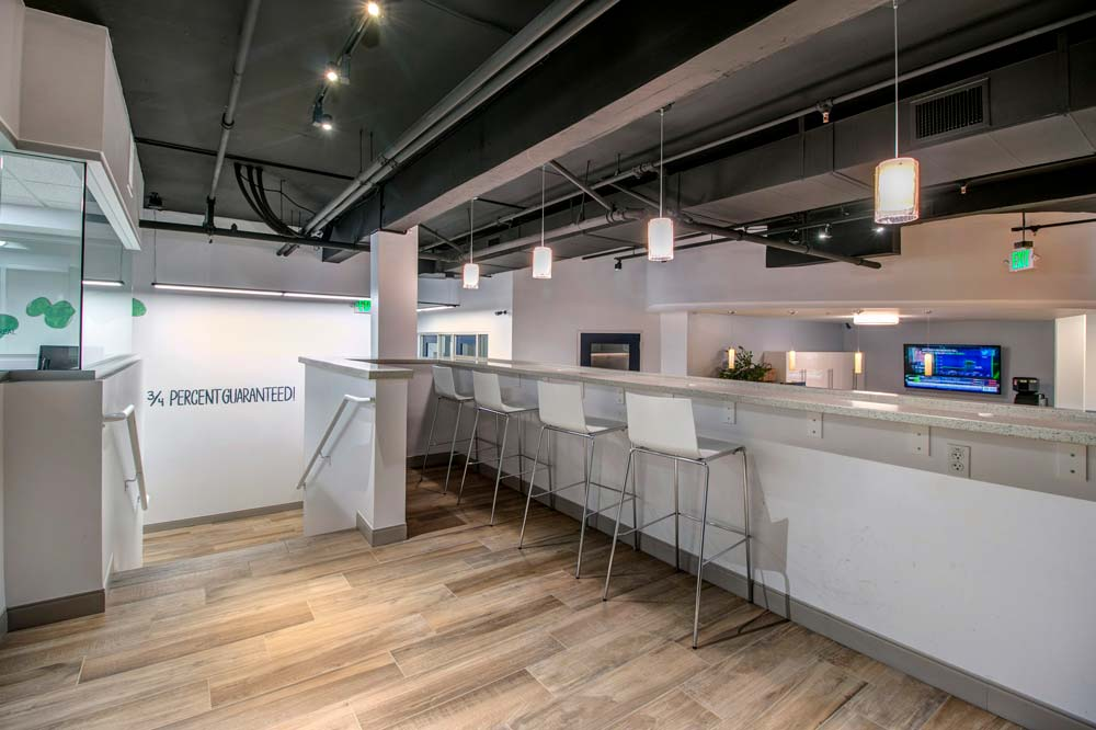 Break Room Design for a Corporate Office