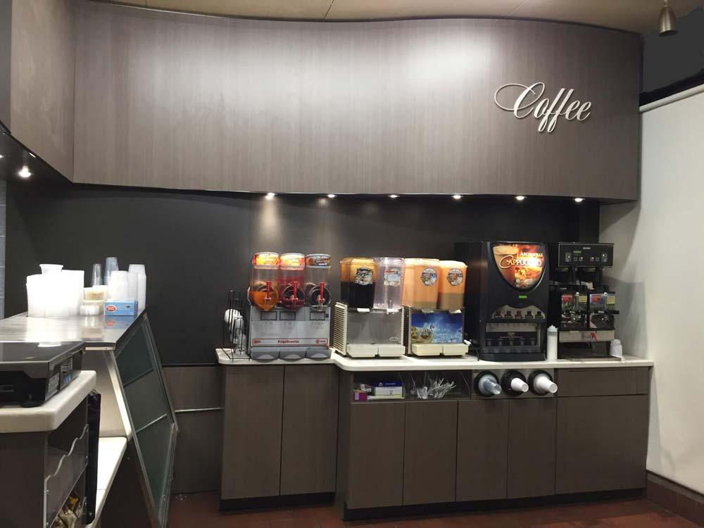 Coffee Area - Break Room