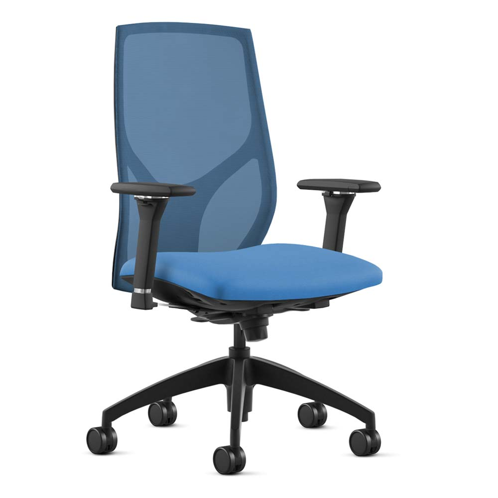 Vault Office Chair - Electric Blue