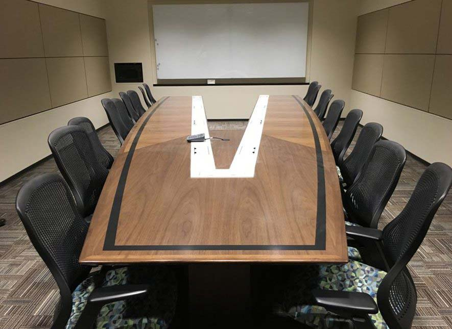 Nevers Custom Video Conference Table