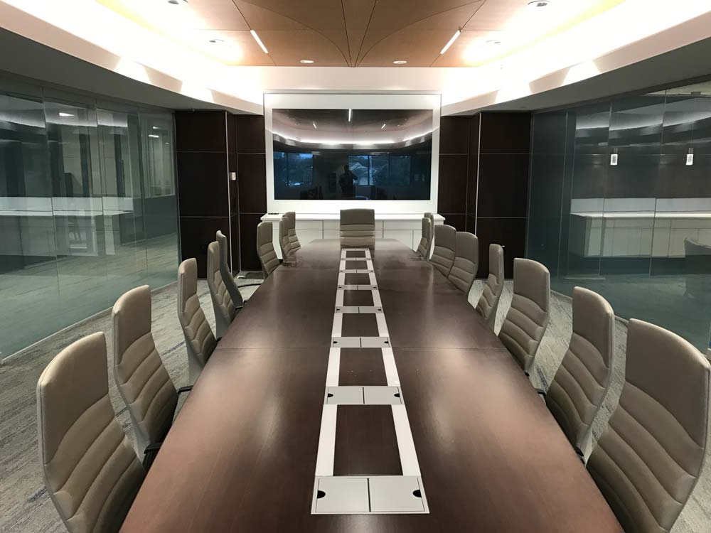 SwitchGlass Boardroom Table