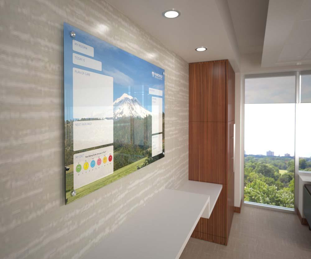 Patient Room Glassboard