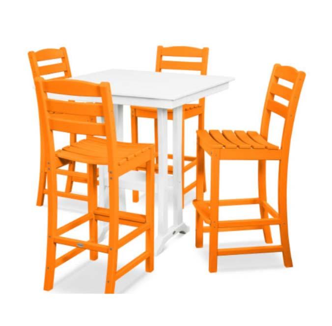 Farmhouse Trestle Bar Table